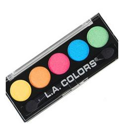 L.A. Colors 5 Color Metallic Eyeshadow