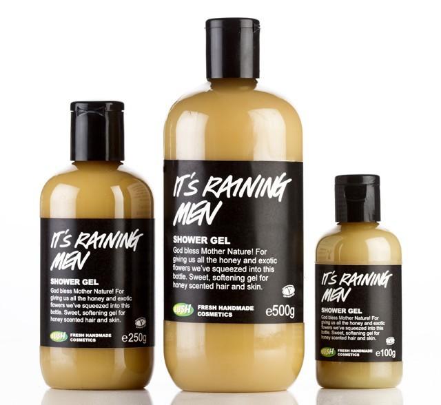 Lush It S Raining Men Shower Gel Reviews In Body Wash