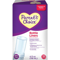 Parents Choice Bottle Liners
