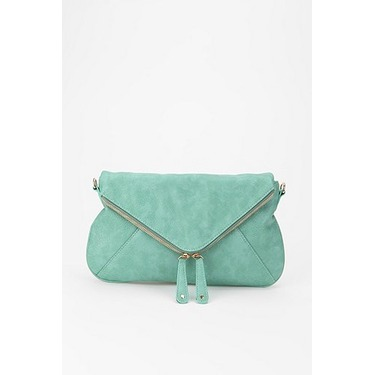 Urban Outfitters Kimchi Blue Double Zip Envelope Clutch