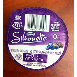 Danone Silhouette Greek Yogurt