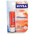 NIVEA A Kiss of Strawberry Fruity Lip Care