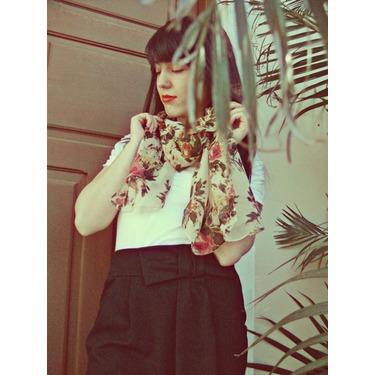 Born Pretty Store Pashmina Floral Scarf