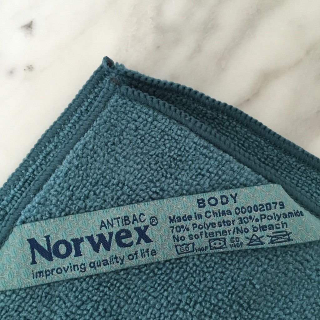 Norwex Antibacterial Suede Make-up Remover Face Cloth ...