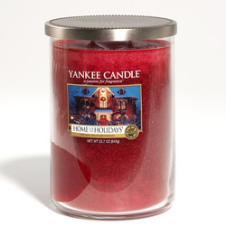 Yankee Candle Home for the Holidays 2 wick cylinder