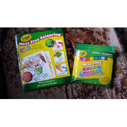 Crayola Color Wonder Coloring Pad and Markers