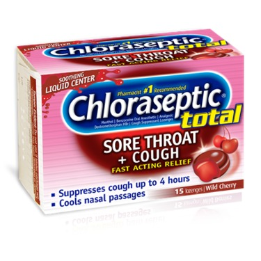 Chloraseptic Sore Throat Lozenges, Cherry