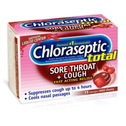 Chloraseptic Sore Throat Lozenges, Cherry
