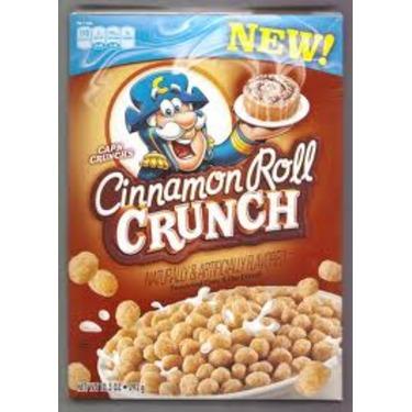 Cap'n Crunch Cinnamon Roll Crunch cereal