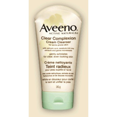 Clear Complexion Cream Face Cleanser With Salicylic Acid by Aveeno #14