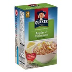 Quaker Instant Oatmeal, Apples and Cinnamon