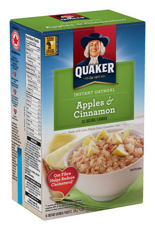 Quaker Instant Oatmeal, Apples and Cinnamon reviews in ...