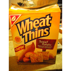 Christie Foods Wheat Thins Sweet Potato
