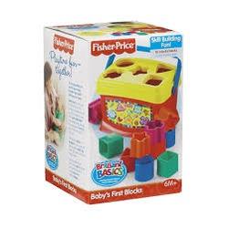 Fisher Price Brilliant Basics Baby's First Blocks