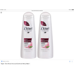 Dove Damage Therapy Revival Shampoo and Conditioner