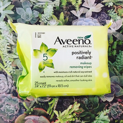 Aveeno Positively Radiant Make-Up Removing Cleanser