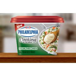 Philadelphia Italian Three Cheese Cooking Creme
