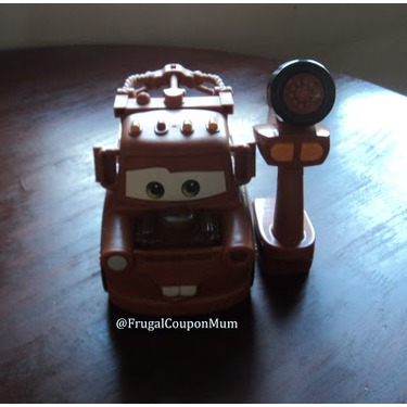 Cars 2 Ez Driver Mater Remote Control Truck By Mattel