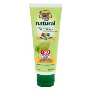 Banana Boat Natural Reflect kids sunscreen