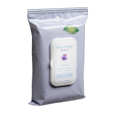 Live Clean (baby) Soothing Relief Wipes