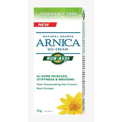 Rub A535 Natural Source Arnica Gel Cream