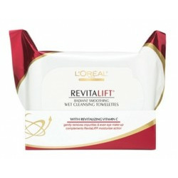 L'Oreal Revitalift Radiant Smoothing Wet Cleansing Towelettes