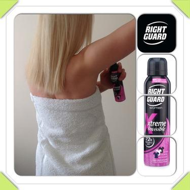 Right Guard Extreme Invisible 72h Anti-perspirant Deodorant