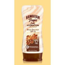 Hawaiian Tropic Silk Hydration Lotion Sunscreen SPF 12