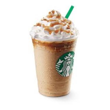 Starbucks Caramel Ribbon Crunch Frappuccino