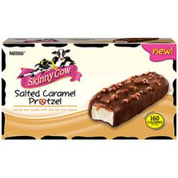 Skinny Cow Salted Caramel Pretzel Novelty Ice Cream
