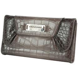 Nine West Ombre Croco Embossed Wallet