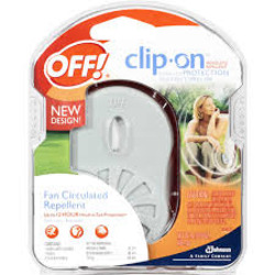 Off Clip On Mosquito Repellent