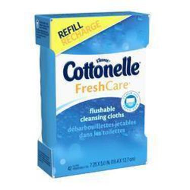 Cottonelle Flushable Cleansing Cloths
