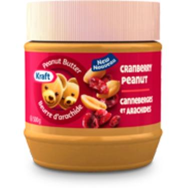 Kraft Cranberry Peanut Butter