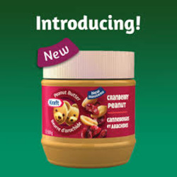 Kraft Cranberry Peanut Butter