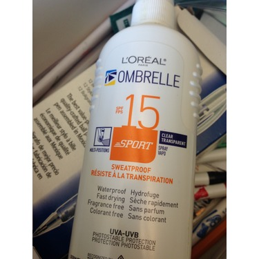 L'Oreal Ombrelle Sport Clear SPF15