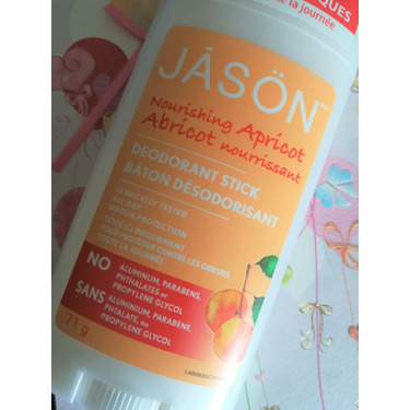 Jason Natural Products Deodorant Nourishing Apricot