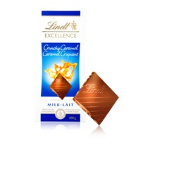 Lindt Excellence Crunchy Caramel Chocolate Bar