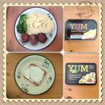 YUM Buttery Spread & YUM Green Pesto Soft Cheese