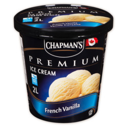 Chapman's Premium French Vanilla Ice Cream