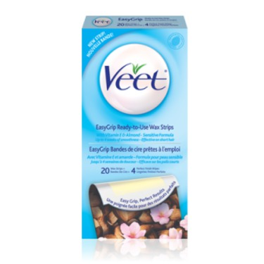 Veet Easy Grip Ready To Use Wax Strips Reviews In Hair Removal
