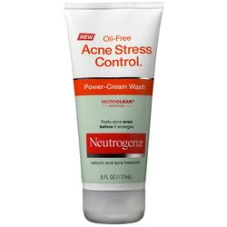 "Neutrogena ""Acne Stress Control"" Power-Cream Wash"