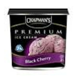 Chapman's Black Cherry Ice Cream
