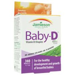 Jamieson Baby-D Vitamin D Droplets