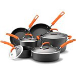 Rachael Ray Hard Anodized 10pc Cookware Set