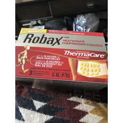 Robax HeatWraps Compresses for Lower Back & Hips