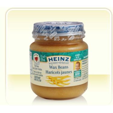 Heniz Baby Food in Wax Beans