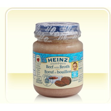 Heniz Baby Food in Beef with Broth