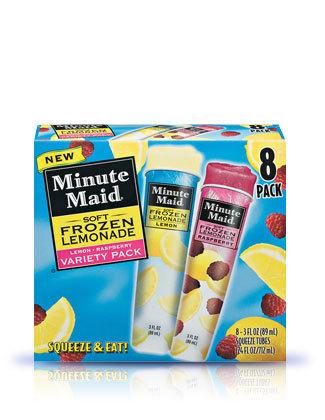 how to make minute maid lemonade frozen