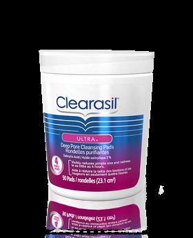 Clearasil Ultra Rapid Action Acne Treatment Pore Cleansing ...